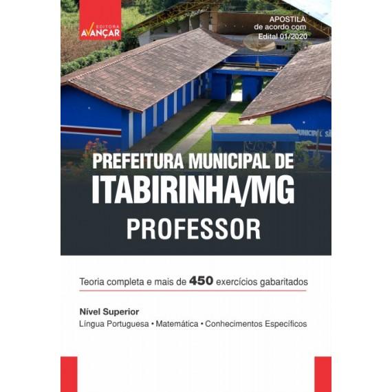 Prefeitura Municipal de Itabirinha MG - Professor - Ebook