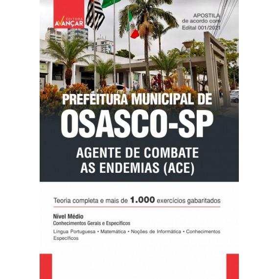 Prefeitura Municipal de Osasco SP - Agente de Combate às Endemias (ACE) - Ebook