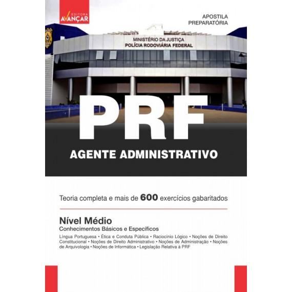 PRF - Agente Administrativo - Nível Médio - Impresso