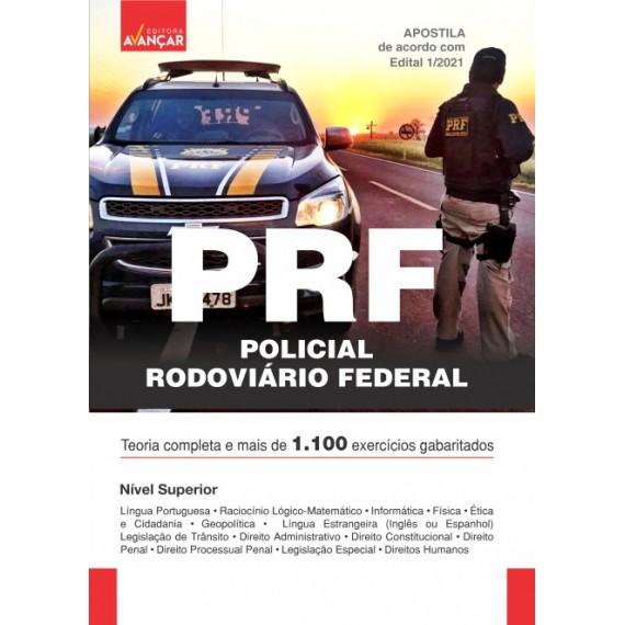 PRF - Policial Rodoviário Federal - Ebook
