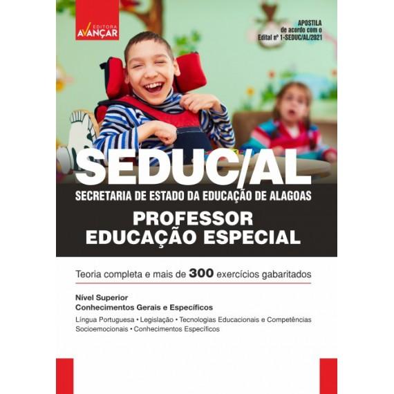 SEDUC AL - Secretaria de Estado da Educação de Alagoas - Professor de Educação Especial - E-book