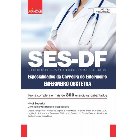 SES DF - Especialidades da Carreira de Enfermeiro - Enfermeiro Obstetra - E-book