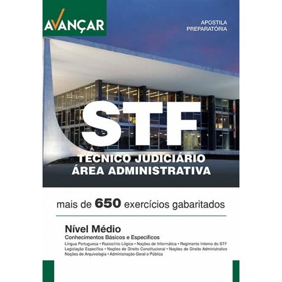 STF - Técnico Judiciário - Área Administrativa - Ebook