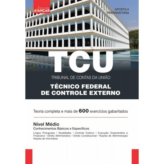 TCU - Técnico Federal de Controle Externo - Ebook