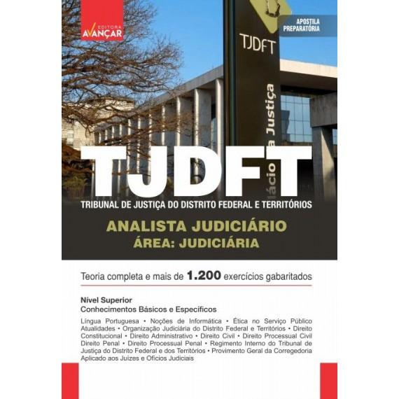 TJDFT - Analista Judiciário - Área Judiciária: E-book