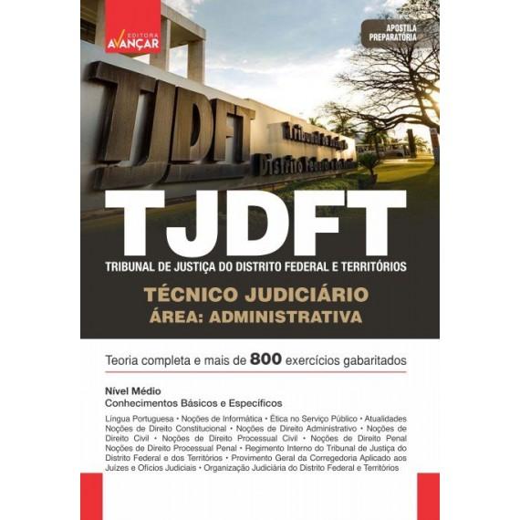 TJDFT - Técnico Judiciário - Área Administrativa: E-book