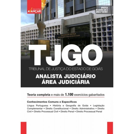 TJ GO - Analista Judiciário: Área Judiciária: E-book