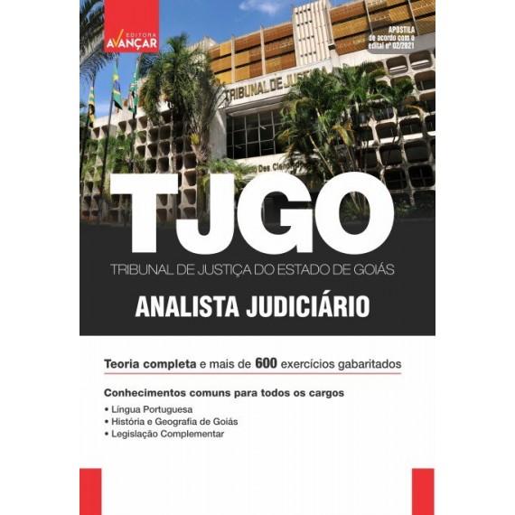 TJ GO - Analista Judiciário: Conhecimentos Básicos Para Todos os Cargos: Impressa