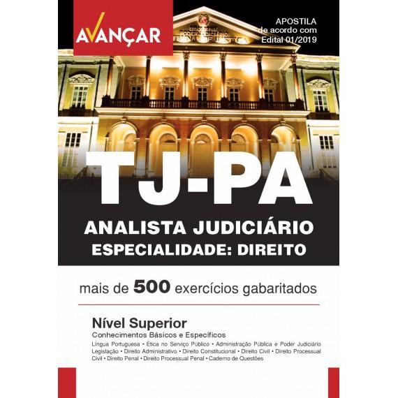 TJPA - Analista Judiciário - Especialidade Direito - Ebook