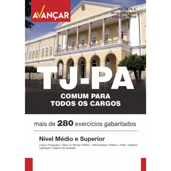 TJPA - Conteúdo Comum Para Auxiliar e Analista - Ebook