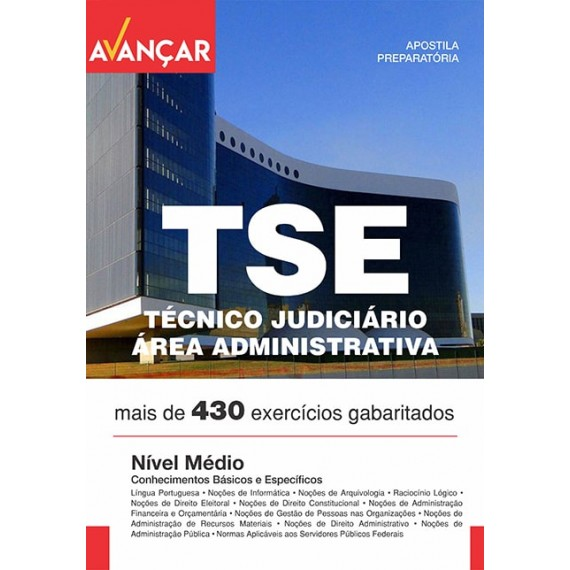 TSE - Técnico Judiciário - Ebook