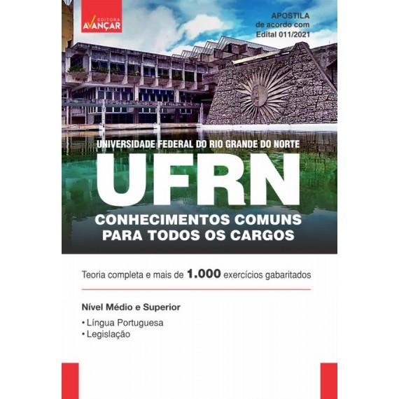 UFRN - Conhecimentos Comuns para Todos os Cargos - Ebook