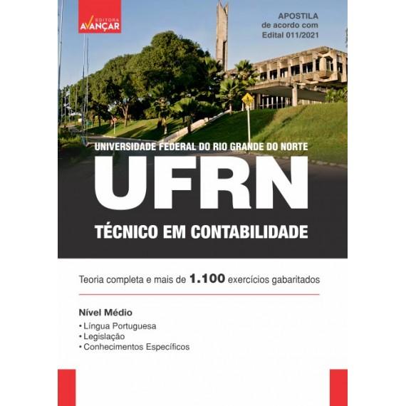 UFRN - Técnico em Contabilidade - Ebook